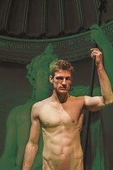 Talking statue: Ethan Gibson in Scandalous Boy.