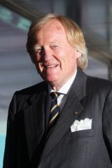 Australiad Grand prix chief Ron Walker.