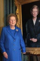 Fought dementia: Margaret Thatcher.