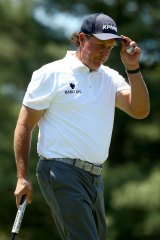 Phil Mickelson has shown his support for Ryan Ruffels.