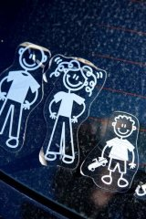 Bumper stickers around Melbourne.