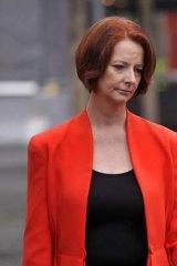 Line has been crossed ... Julia Gillard will not hear a personal apology from Alan Jones.