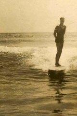 Manly surfer.