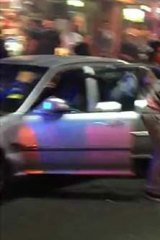 A 17-year-old, who had been shot, was dragged from the front passenger seat.
