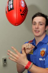 The bargain: Brisbane Lion selection Lewis Taylor.