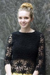 Detour: Olivia Stock left her UNSW course to join a design college.