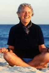 Loved the beach...Freda Brown in Bondi in 1995