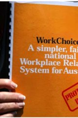 'Even if WorkChoices had never happened, workplace relations has always been a difficult issue.'