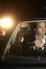 Celebrity chat: Nick Cave and Kylie Minogue swap notes in <em>20,000 Days on Earth</em>.
