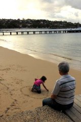 Traumatic: Emma and Leo on Balmoral Beach.