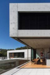 The Balmoral house designed by Clinton Murray and Polly Harbison uses concrete throughout.