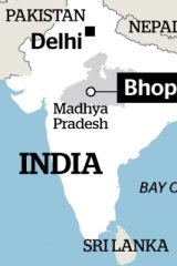 Bhopal is in the state of Madhya Pradesh.