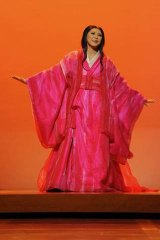 Unrequited love ... the young Japanese soprano Hiromi Omura is compelling in the title role.