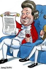 Illustration: John Shakespeare.