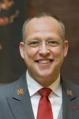 Pulling off the impossible: James Ridenour, chief concierge at the InterContinental.