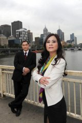 Kenneth King and Sunny Lu take dozens of calls each day from Chinese investors eager to buy property in Melbourne.