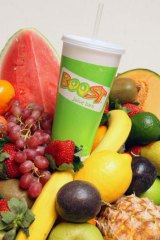 Boost Juice ... their super smoothies have the same number of kilojoules as a meal.