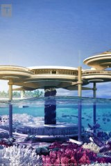 nieuwe high Goede prijzen maat 7 Underwater hotel on Great Barrier Reef idea draws mixed response