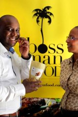 Boss Man Food's Roderick Grant and Debra Ojumu.