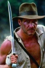 No pin-up boy: Indiana Jones gladly kills anyone who gets in his way.