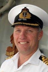 Commodore Richard Menhinick.