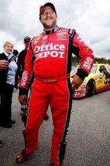 Enigmatic ... NASCAR driver Tony Stewart.