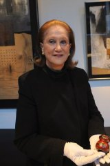 Pauline Gandel has donated $1 million to the NGV for a special gallery of Japanese art.