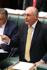 Deputy Prime Minister Warren Truss.