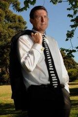 Children's Court lawyer Andrew McGregor.