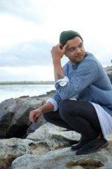 In love: Guy Sebastian has bought at Maroubra and likes to chill at Mahon Pool.