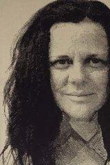 Reko Rennie's portrait of Hetti Perkins.