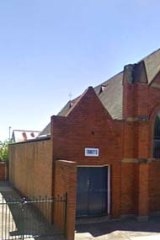 The church hall, which was once a church itself, before the fire.