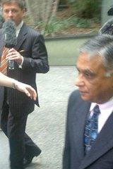 Jayant Patel arrives at court on Monday.