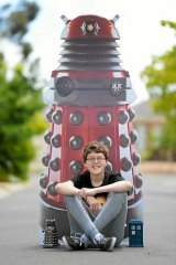 Dr Who fan Sam Menhennet.