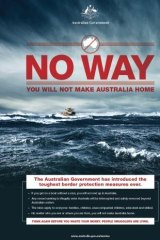 "The ""No Way"" campaign."