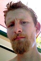 Accused man... Adrian Gallaher.