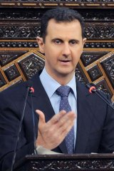 Assad's officials have said they would never use poison gas.