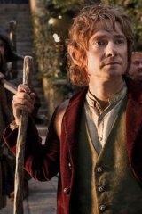 Martin Freeman as Bilbo Baggins in The Hobbit: An Unexpected Journey.