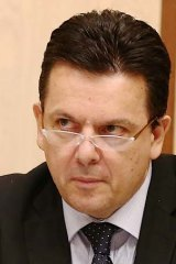 """""""This is not so much the gravy train as the gravy plane"""": Senator Nick Xenophon."""