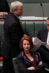 Speculation continues to surround Julia Gillard's leadership and a possible coup by Kevin Rudd.