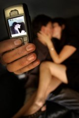 Uninhibited ... about a third of those who had appeared in or sent sexual images said drink or drugs had been a factor.