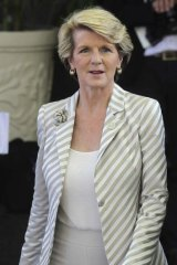 Overseas study: Australian Foreign Minister Julie Bishop (pictured), along with Barnaby Joyce and Teresa Gambaro collectively claimed more than $12,000.