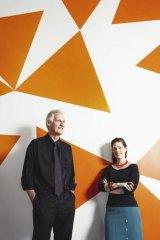 Stuart White and Dana Cordell.