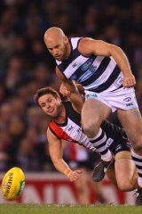 Geelong wants Paul Chapman to continue with the club.