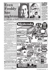 An early ad for the NES, placed by Dick Smith, is seen here in the Sydney Morning Herald in August 1987. Larger version below.