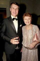 Lord Mayor Graham and Anne Quirk.