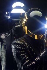 Daft Punk: The duo are never seen without their helmets.