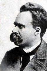 Friedrich Nietzsche argued that the natural environment isn't a lawmaker.