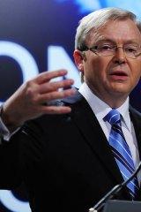 Sorry ... Australian Prime Minister Kevin Rudd.