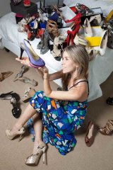 Shoe tragic Toni Caldwell keeps some in boxes just to say 'hi'.